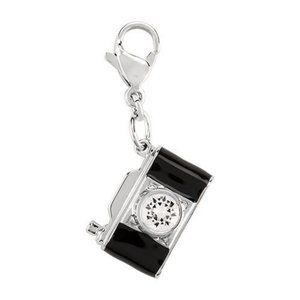 Camera Dangle with Accent Crystal by Swarovski